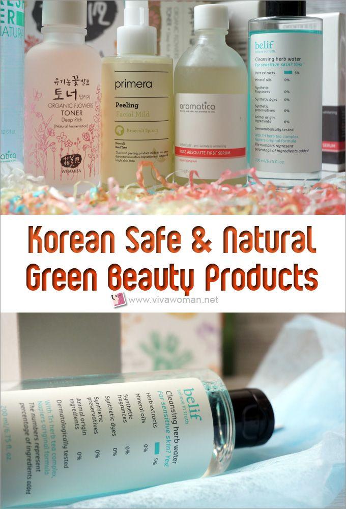 Korean Natural And Organic Skin Care Brands Organic Skin Care Organic Skin Care Brands Natural Organic Skincare