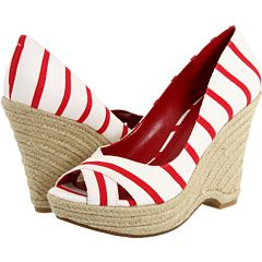 I need summer shoes.  These would go with everything, no?
