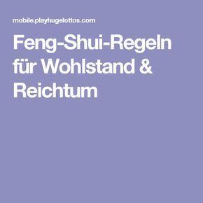 Feng Shui Regeln feng shui regeln für wohlstand reichtum haus feng shui