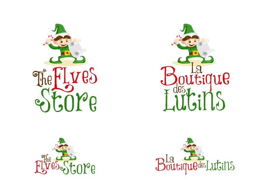 Create a wonderful logo for online website selling Christmas Elves ...