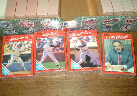 1990 Donruss Baseball Cards And Puzzle Box Of Unopened