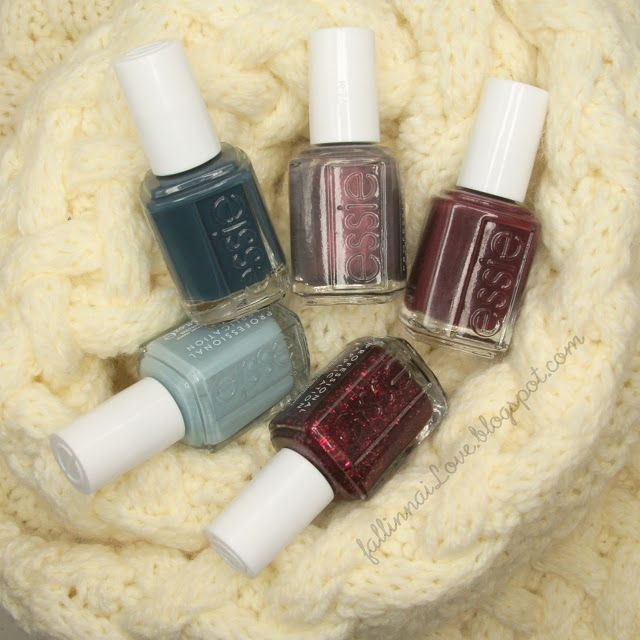 Essie Shearling Darling Winter Collection 2013.