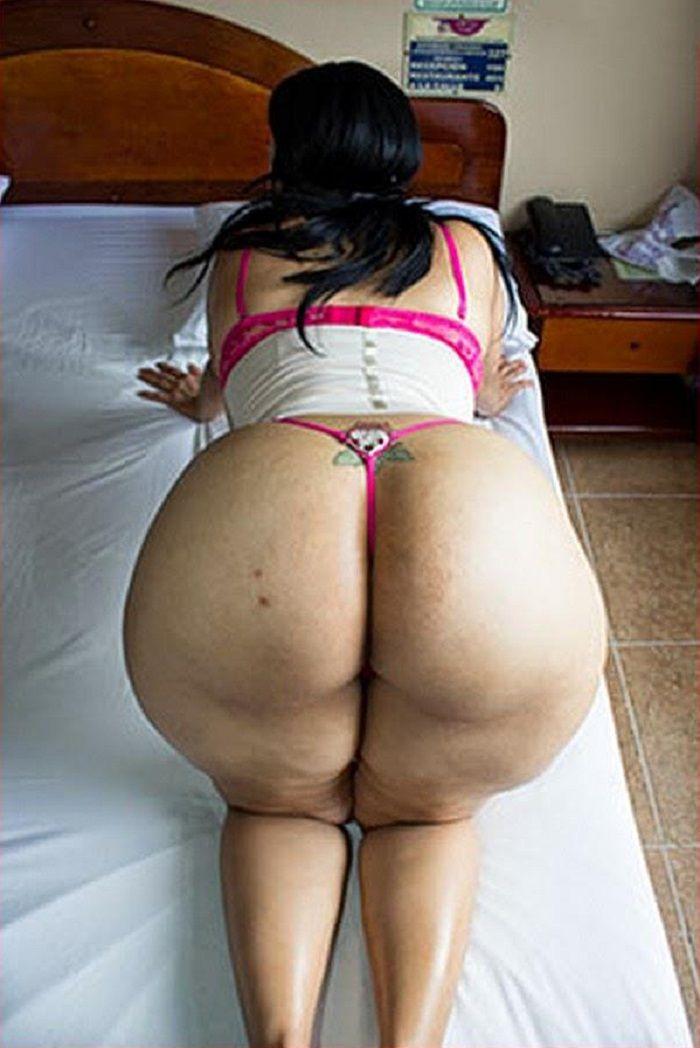 ass brunette Big