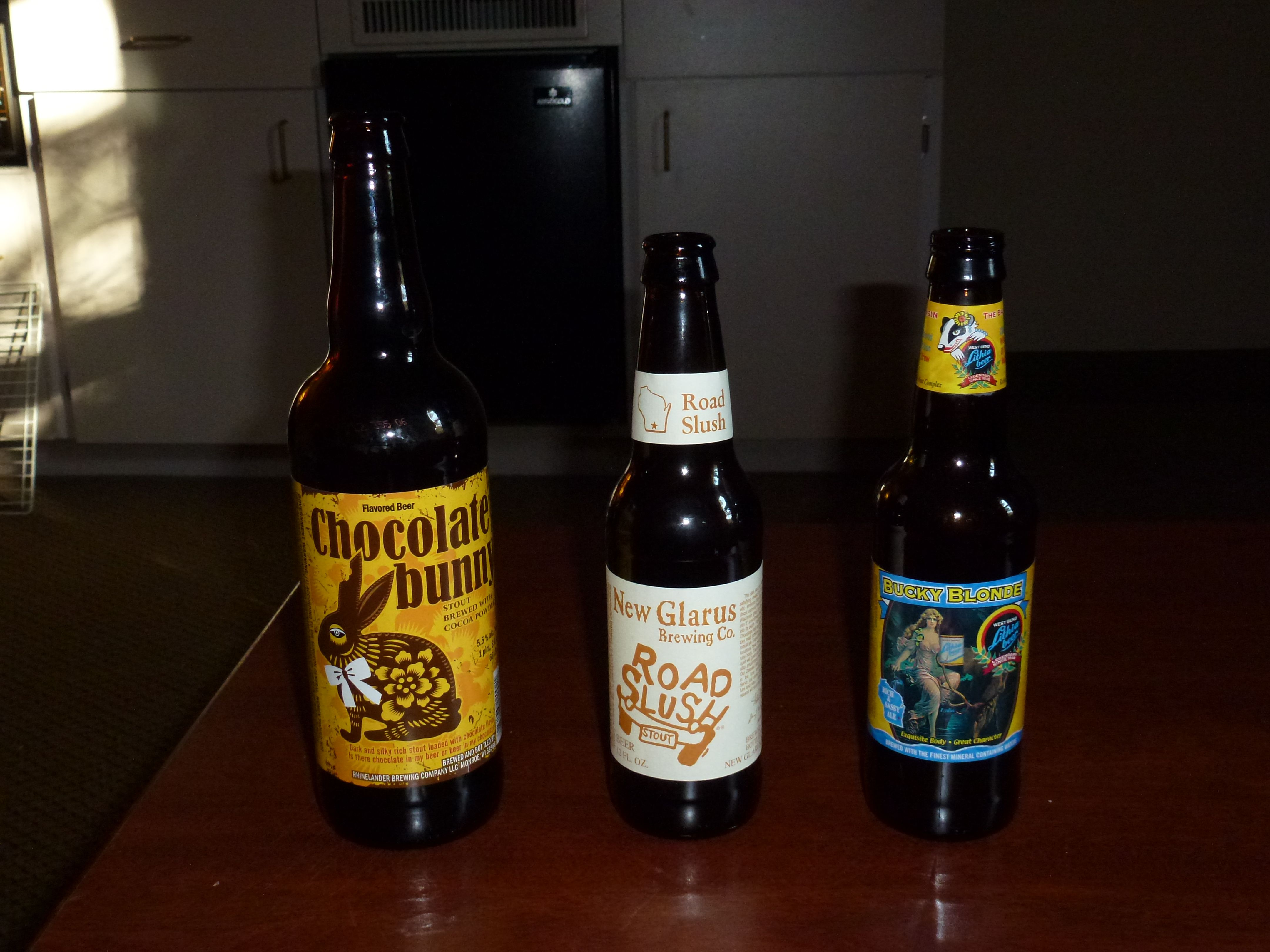 Several different craft beers i like to try anything for Mankato craft beer expo
