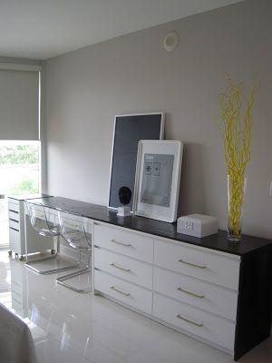 the life improvement project by Ikea u0026 Oprah, ikea hack, dresser desk combo