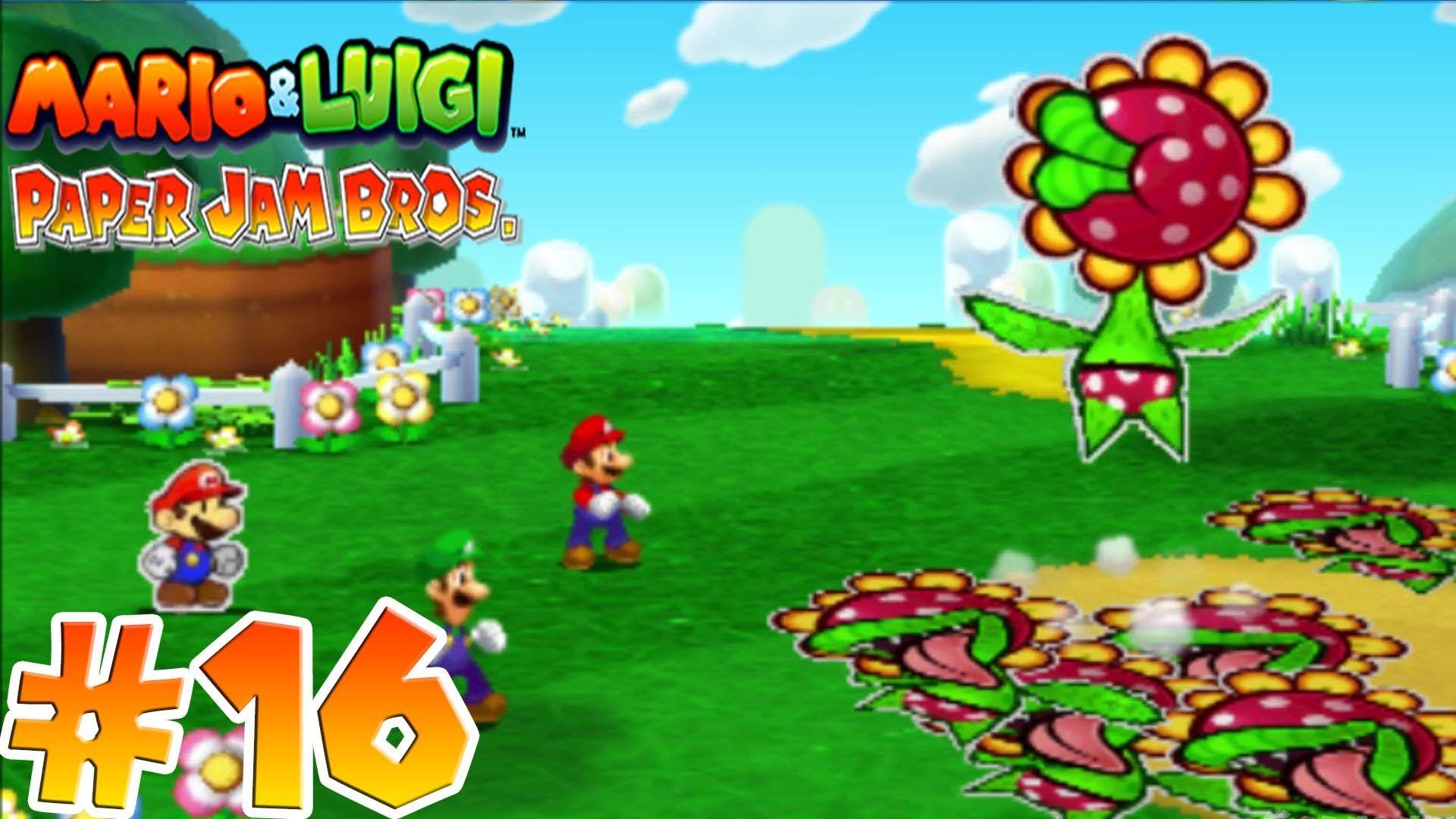 Mario Luigi Paper Jam Bros Gameplay Walkthrough Part 16
