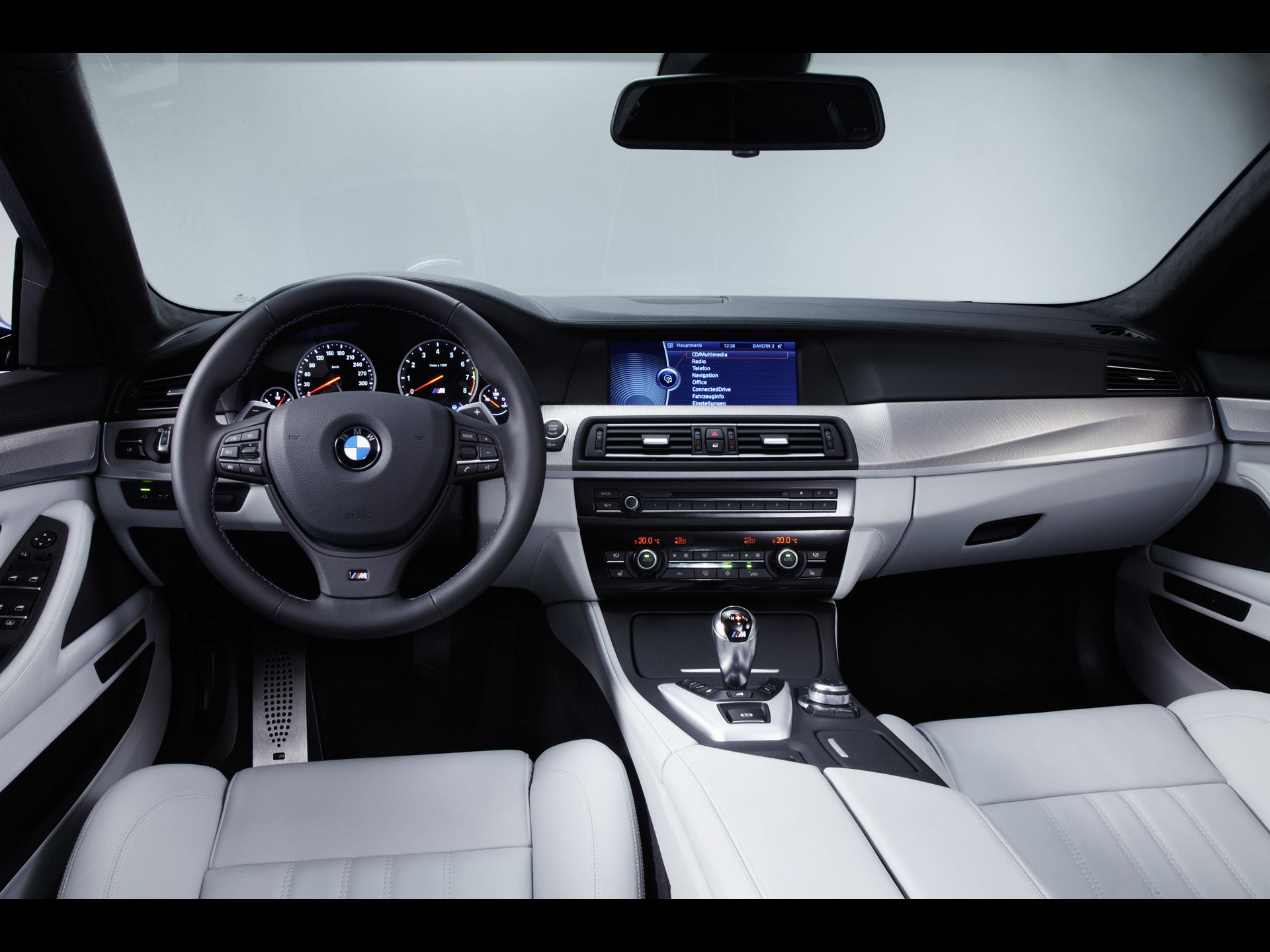 2012 Bmw M5 Dashboard With Images Bmw M5 Bmw Concept New Bmw