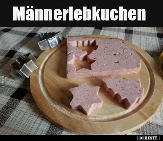 Männerlebkuchen.. | Lustige Bilder, Sprüche, Witze, echt lustig #weihnachtssprüchelustig