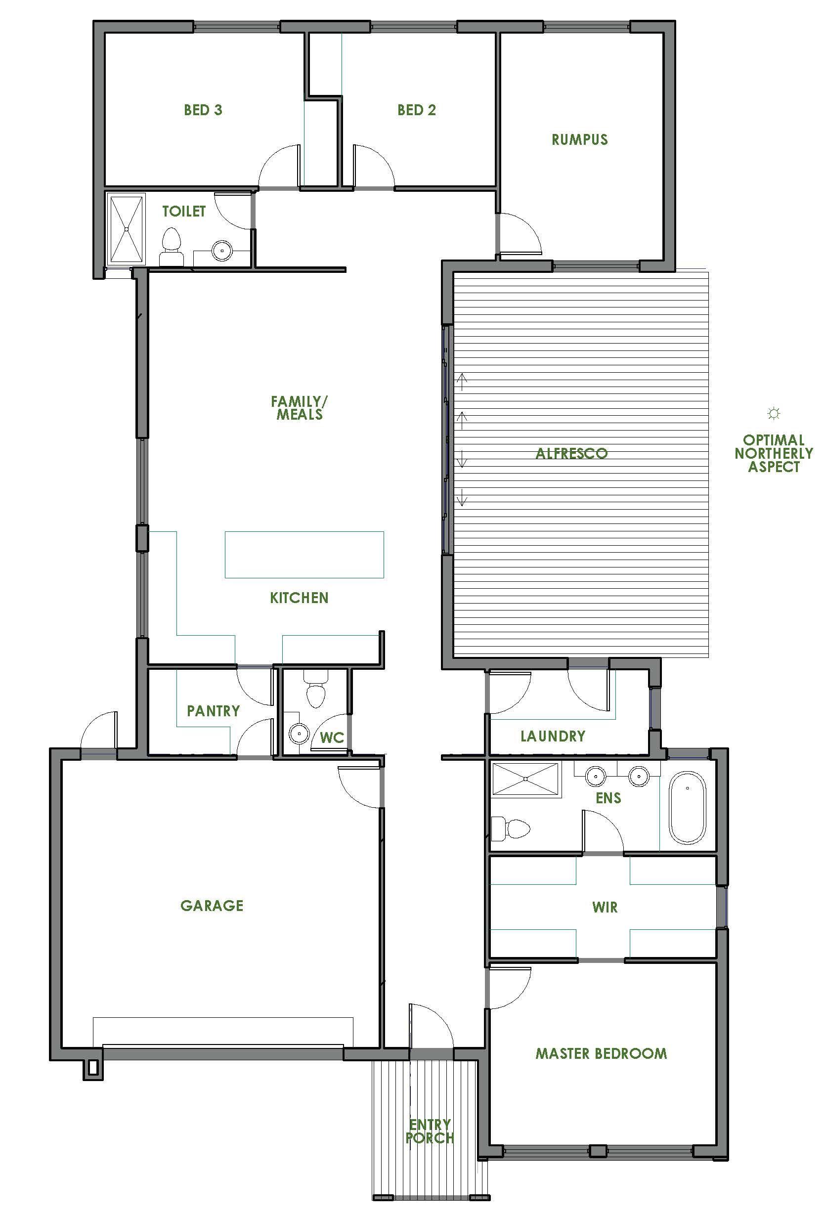 aberdeen - energy efficient home design - green homes australia
