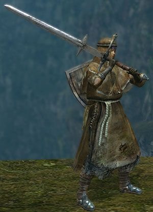 zweihander user | nerdy stuff | Dark souls, Medieval weapons, Sword