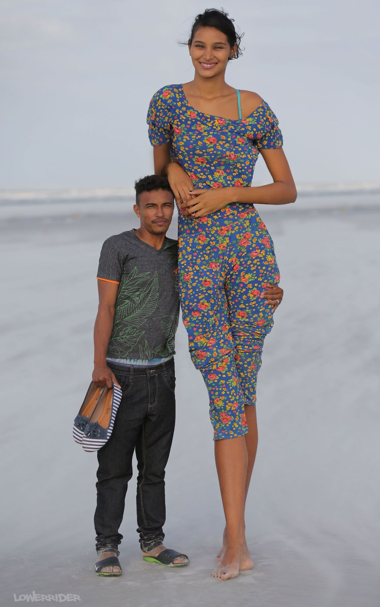 Высокий и низкий мужчина картинка
