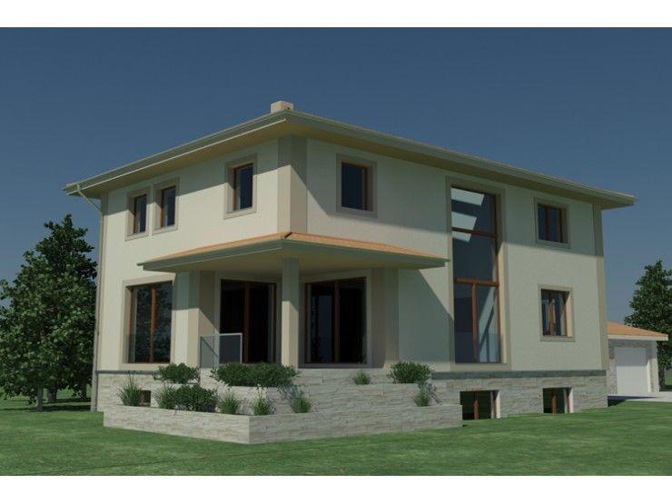 Hausbau modern flachdach  Independent 160 - #Einfamilienhaus von STIMMO Hausbau GmbH ...