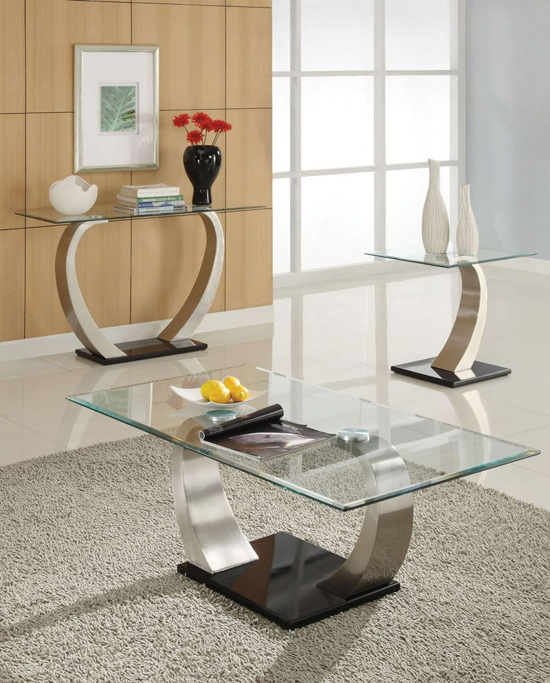 30 Glass Coffee Tables That Bring Transparency To Your Living Room  # Table Tv D'Angle En Verre Design Transparent