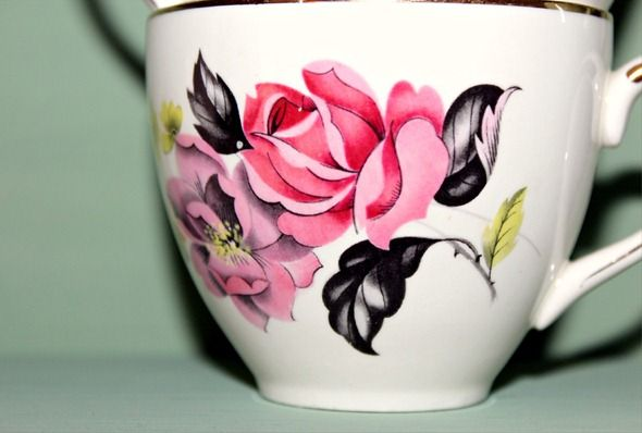 rose teacup | Tattoo ideas | Pinterest | Teacup