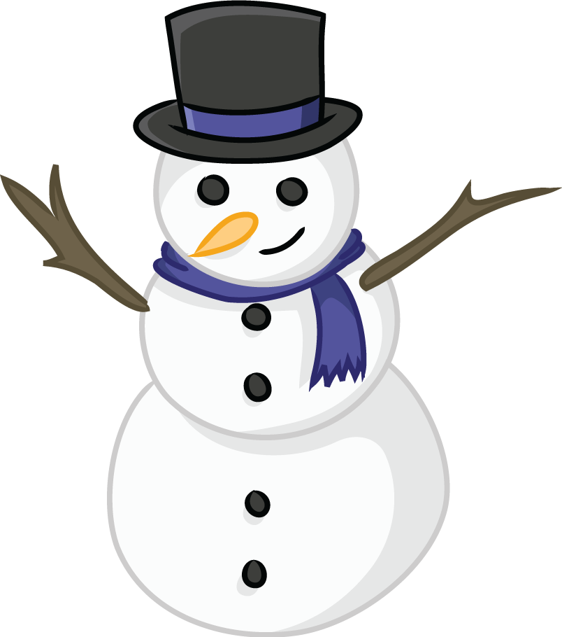 Image result for clip art snow man