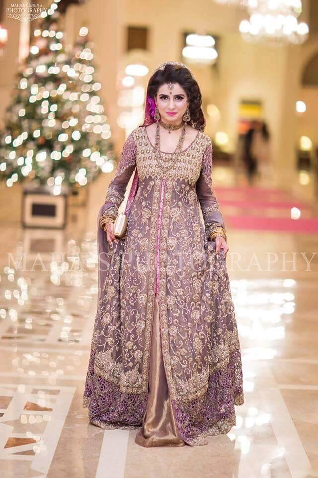 Image result for lilac lehengas bridal