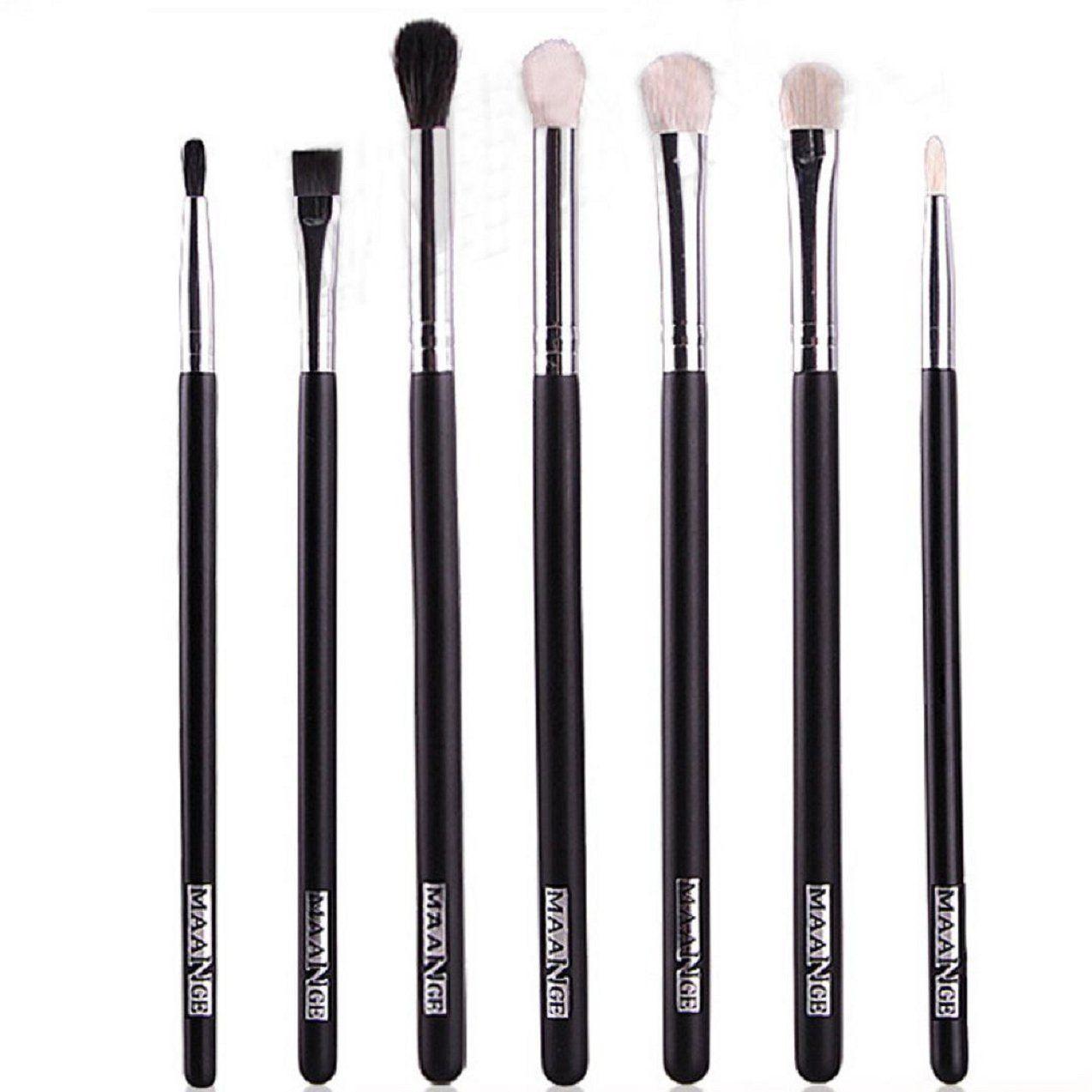 Tonsee 7PCS Makeup brushes Blend Shadow Eyeliner Smoked