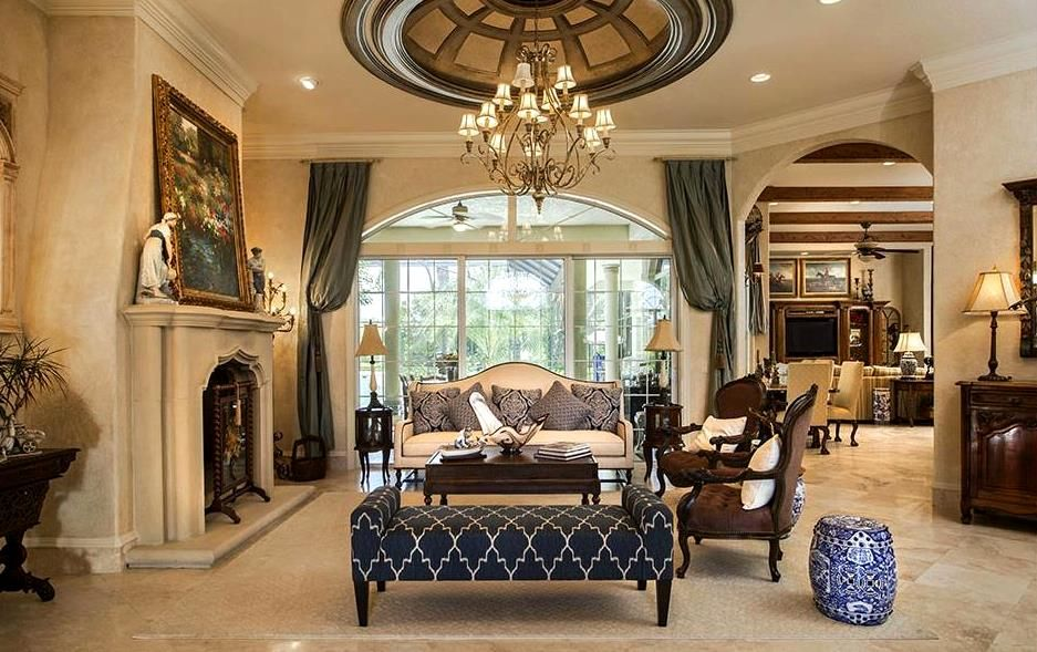 Relaxed Elegance In Odessa Fl House And Home Magazine Luxury Living Room Dream Living Rooms