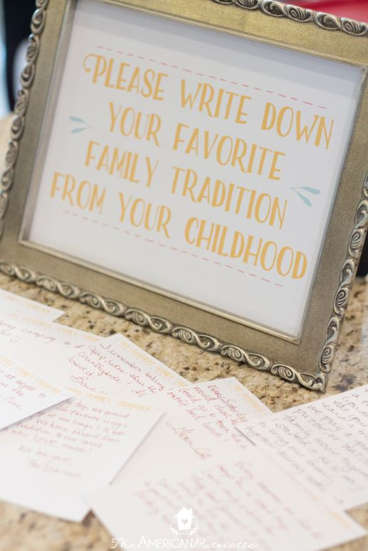 Fun and Unique Baby Shower and Bridal Shower Activities - The American Patriette