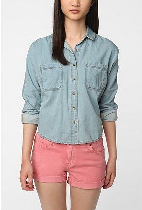 3f401ba03 BDG Chambray Shirt - StyleSays | Want these looks