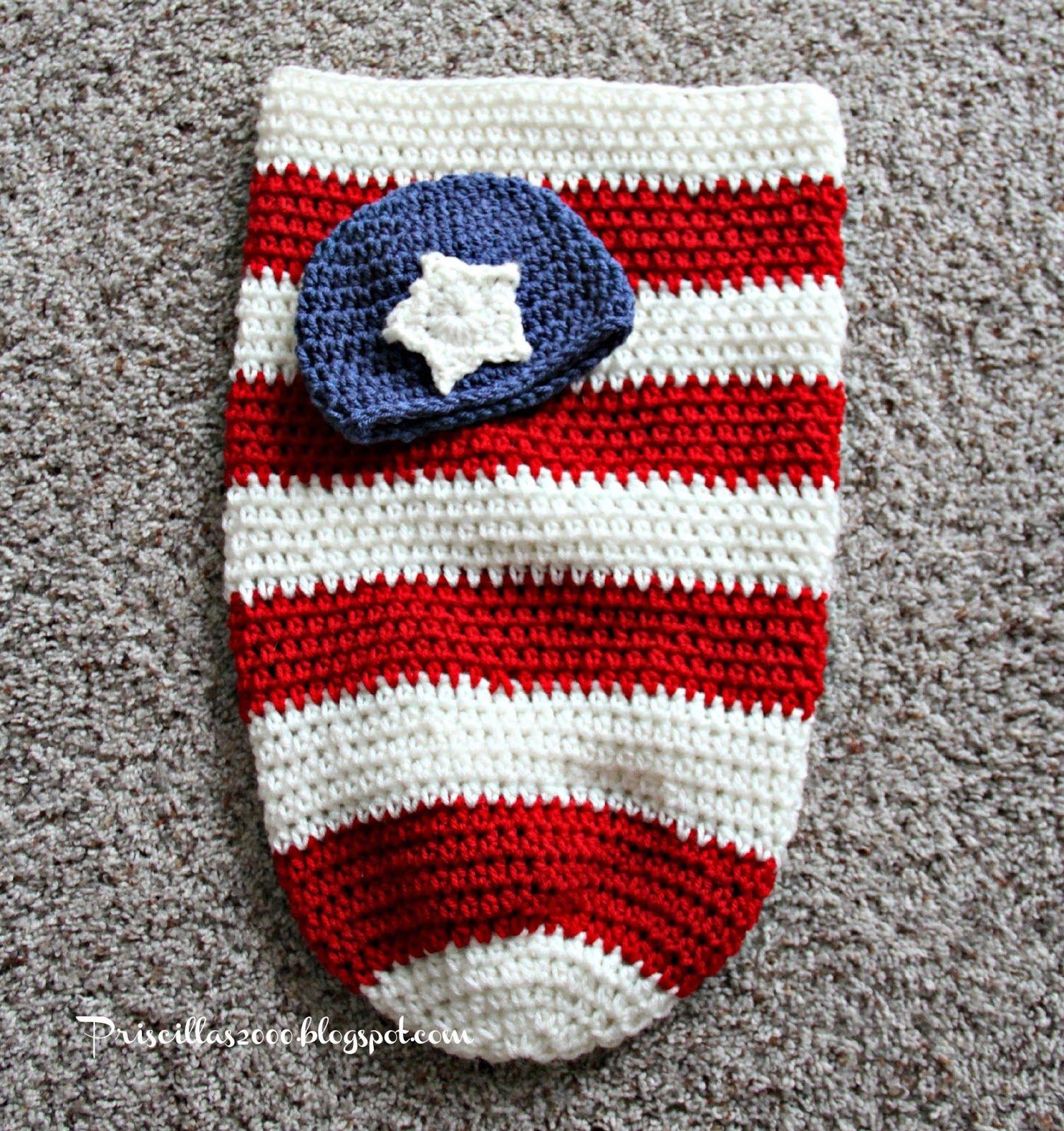 Patriotic Baby Crochet | Pinterest | Colchas tejidas para bebe ...