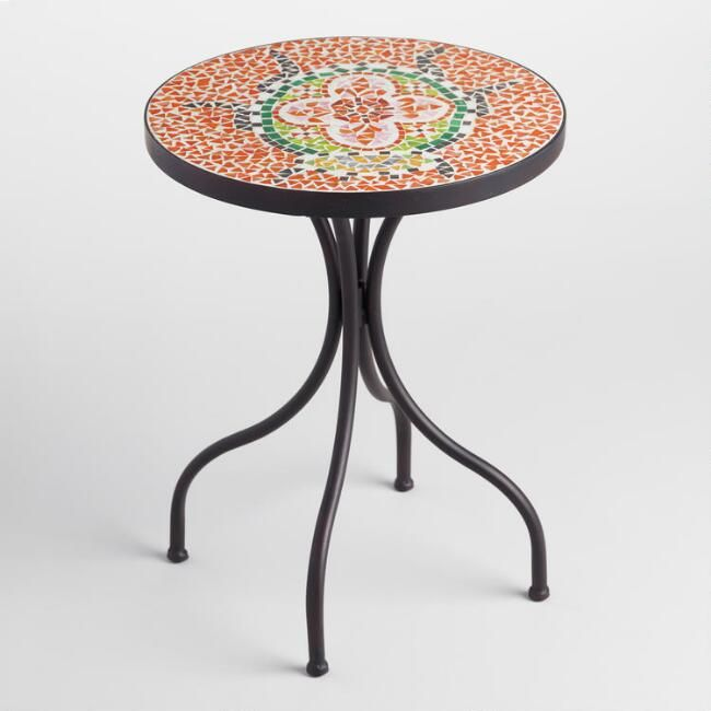 Mosaic Accent Table Outdoor