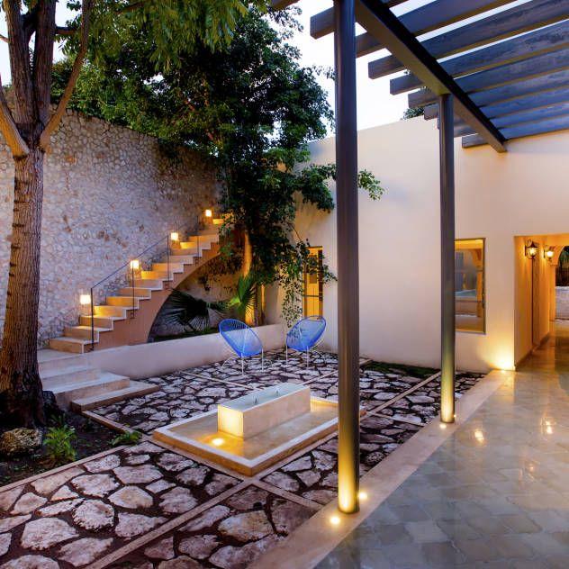 Ideas De Diseño De Jardines Residenciales: Ideas, Imágenes Y Decoración De Hogares