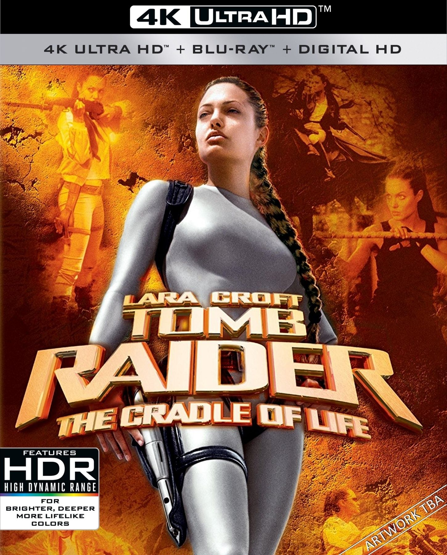 Lara Croft Tomb Raider The Cradle Of Life 4k 2003 Uhd