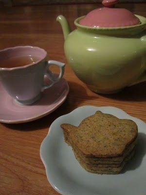 Earl Grey Tea Cookies (aka The Cutest Cookies in the World!)