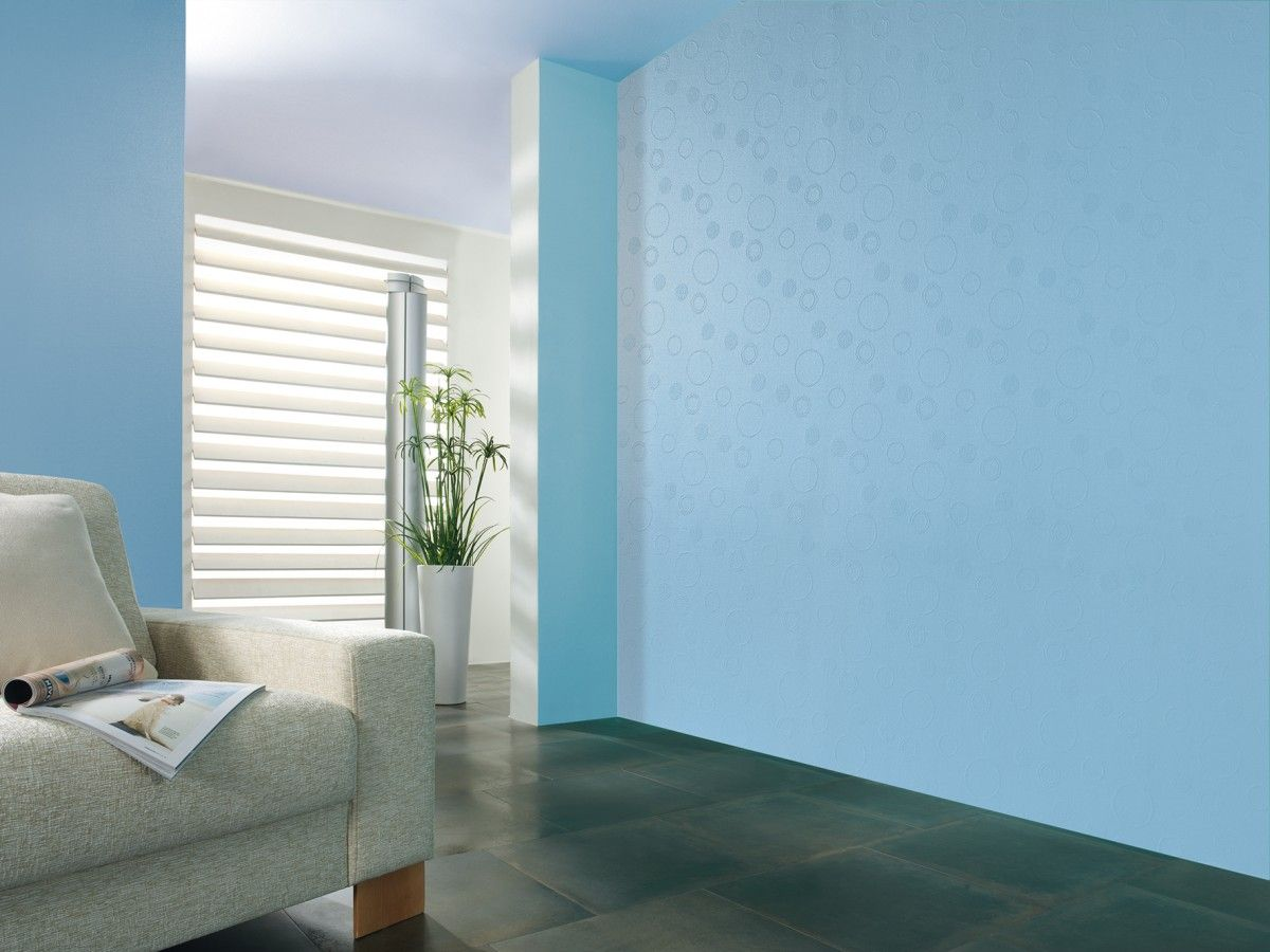 This is how fiberglass wallpaper looks like. More pictures in the ...