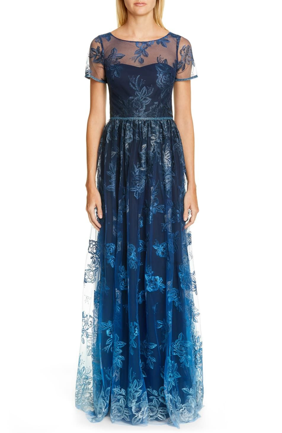 Nordstrom Online In Store Shoes Jewelry Clothing Makeup Dresses Stylish Formal Dresses Embroidered Gown Gowns [ 1460 x 952 Pixel ]