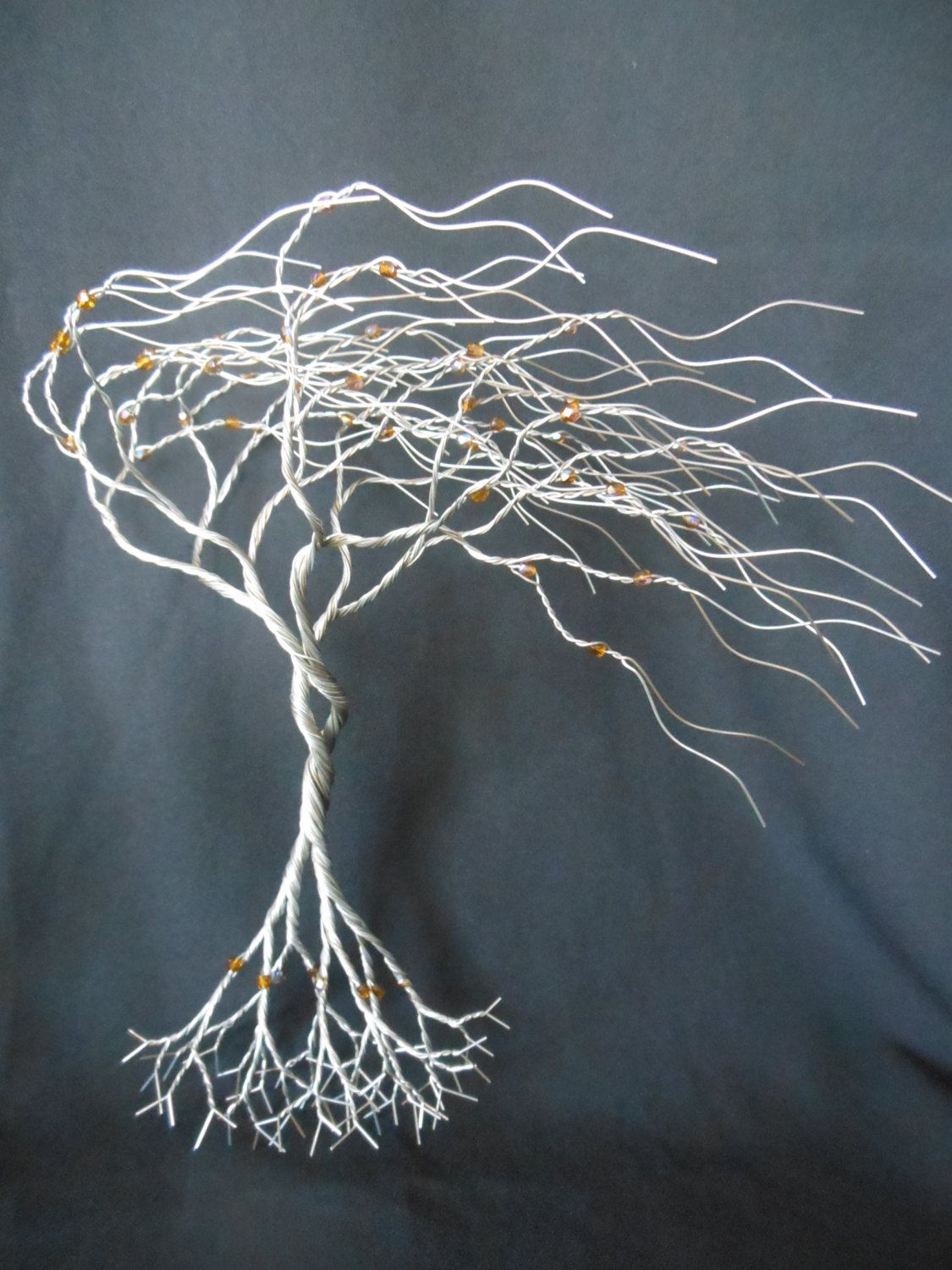 Hang this tree on your mirror, window or wall. This twisted tree is ...
