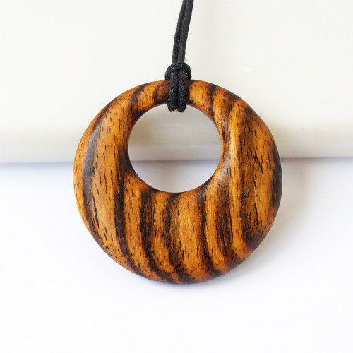 Gorgeous Brown Leather BeadBronze Camera PendantNecklace UK Seller