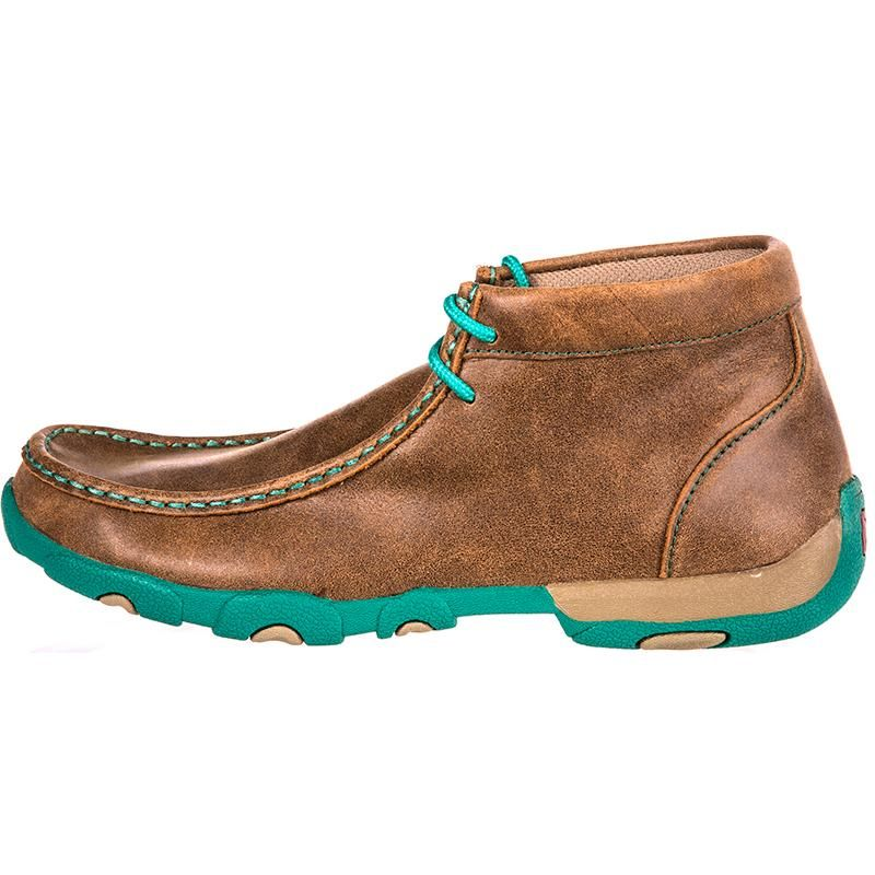 10f23bb3c81 Shop Women s Twisted X Driving Mocs Brown   Turquoise Shoes