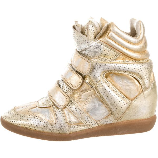 Isabel Marant Metallic Beckett Sneakers sale official site best store to get sale online free shipping nicekicks MrOraVn