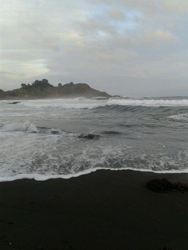 Desenbocadura Río Bío Bío, Chile
