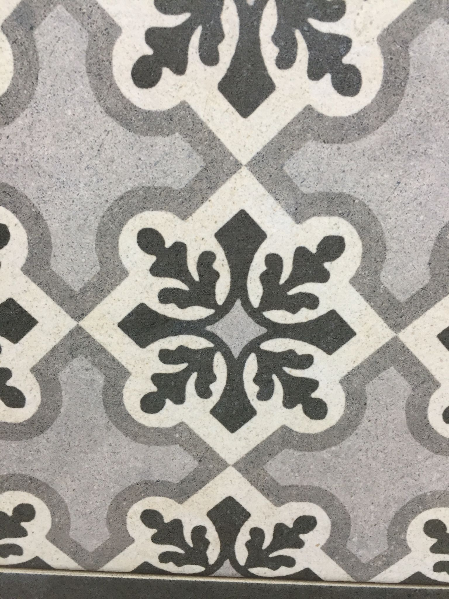 For The Downstairs Bathroom Floor Love Tessellated Tiles And