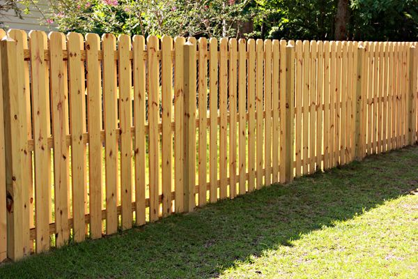 Shadowbox 6ft Dog Ear Picket Diy Garden Fence Fence Planning