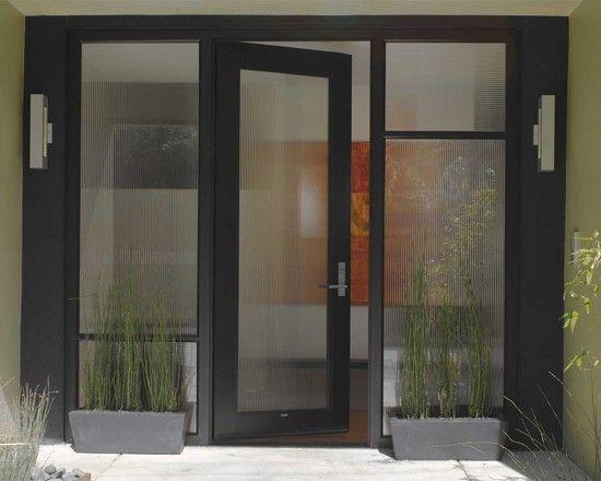 Reeded Glass Exterior Doors Design Http Www Bonelli Com