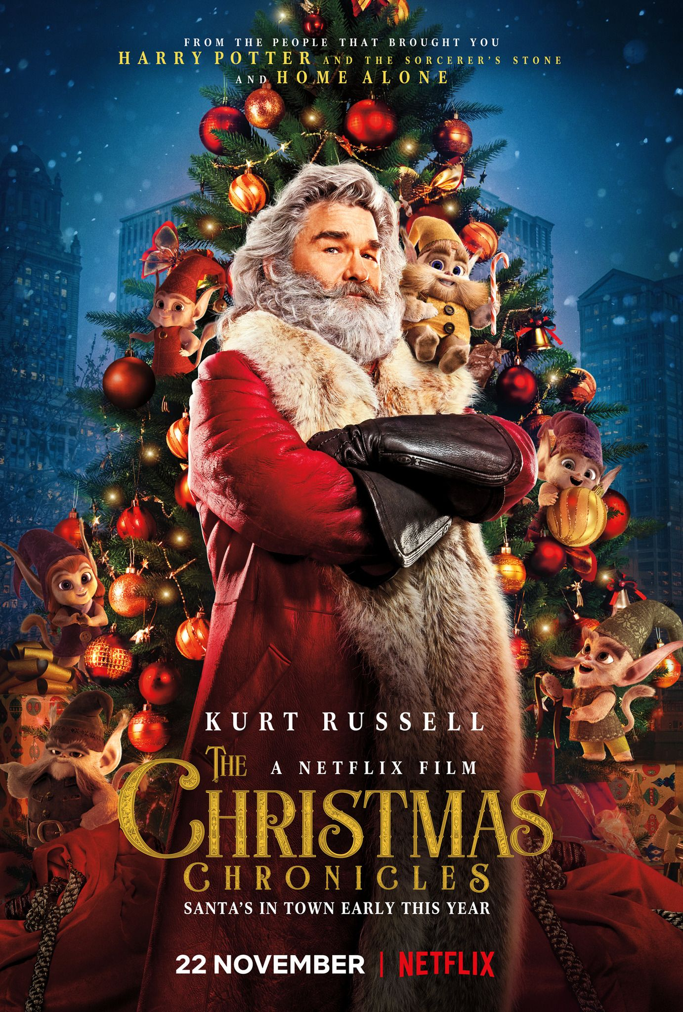 christmas tree and santa claus netflix the christmas