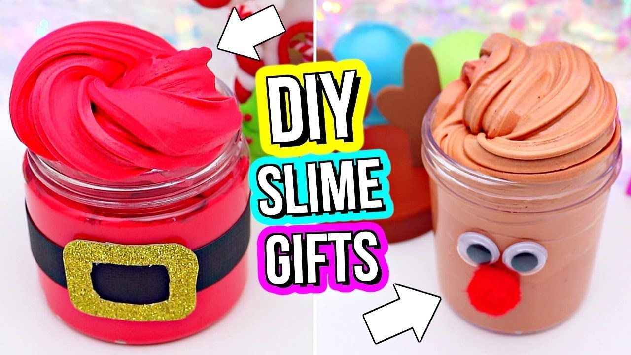 DIY SLIME GIFTS! How To Make Slime Gifts for Christmas ...
