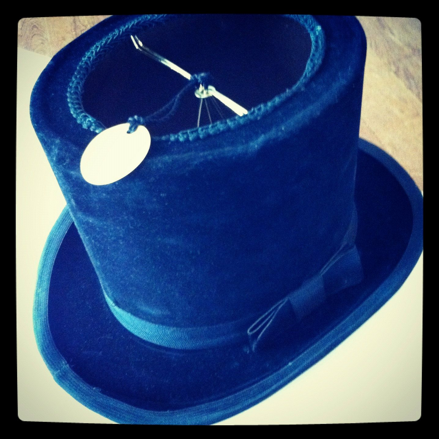 Top Hat Lampshade For Tea Cup Pot Lamp Madhatter Anyone