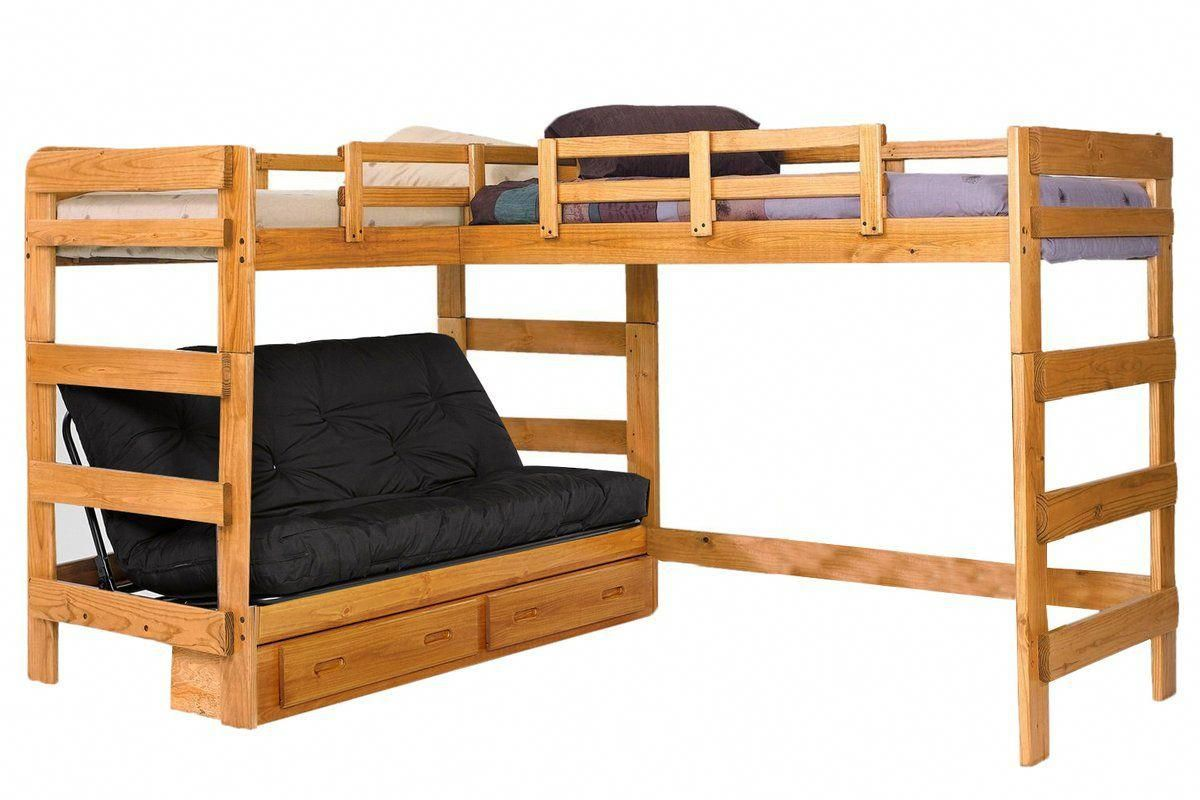 Twin Over Futon Bunk Bed With Stairs Cheaper Than Retail Price Buy Clothing Accessories And Lifestyle Products For Women Men