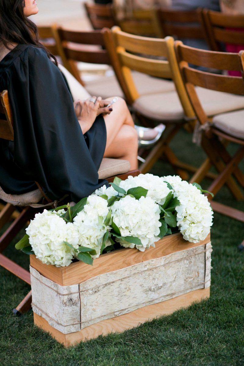 Birkenstamm Deko In Der Hochzeit