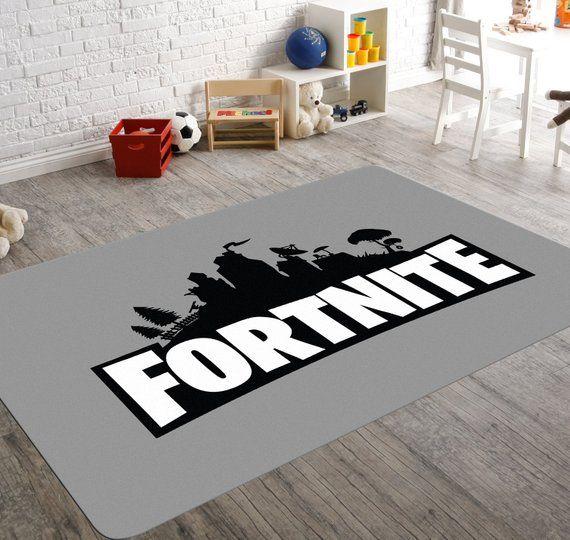 Fortnite Rug, Fortnite Room, Video Game Rug, Fortnite Room Decor ...