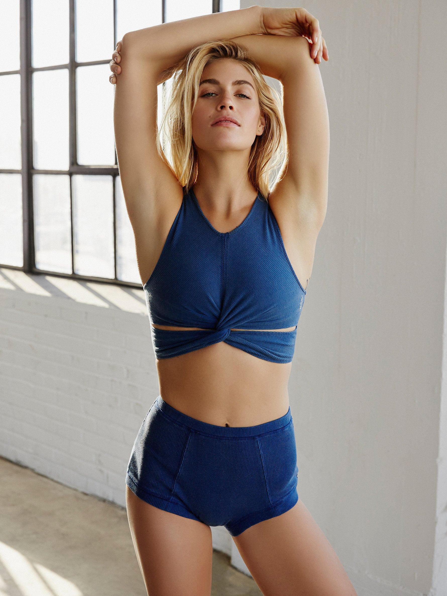 5fbf21728e400 Ultra comfy cotton-spandex blend fabrication with a Power Mesh lining that  makes for breathable