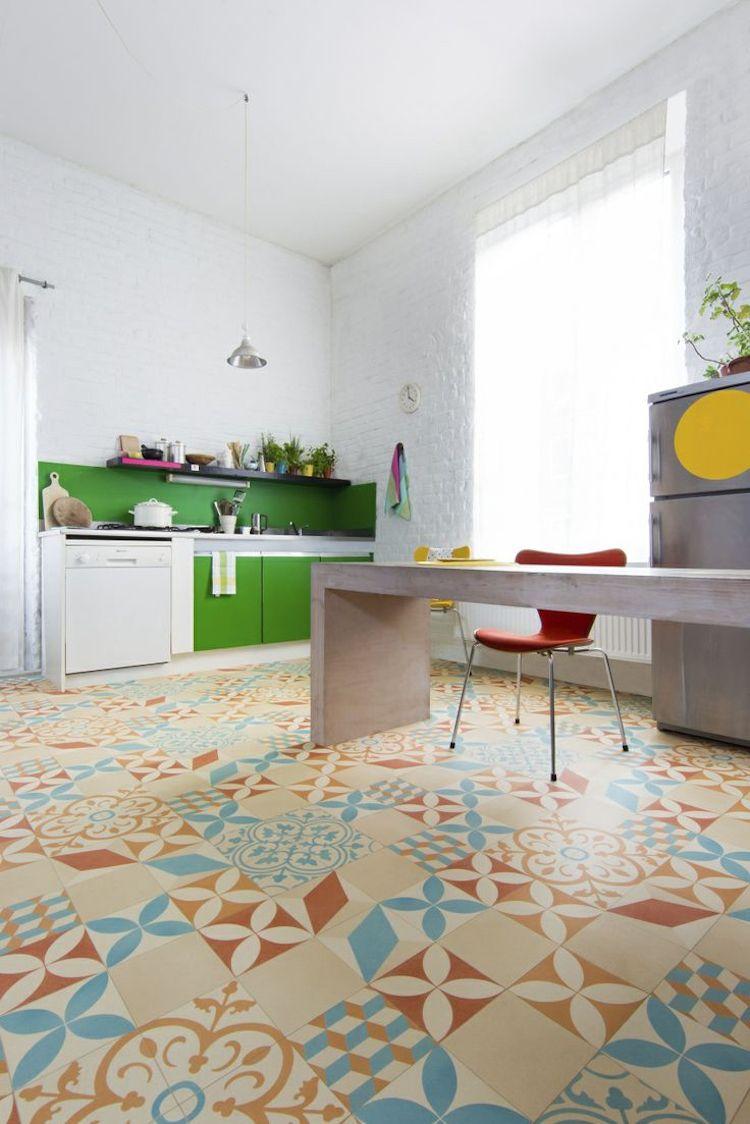 Küchendesign und fliesen bodenfliesen in der küche für jeden typ und wohnstil u  tipps