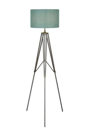 Buy pewter tripod floor lamp from the next uk online shop