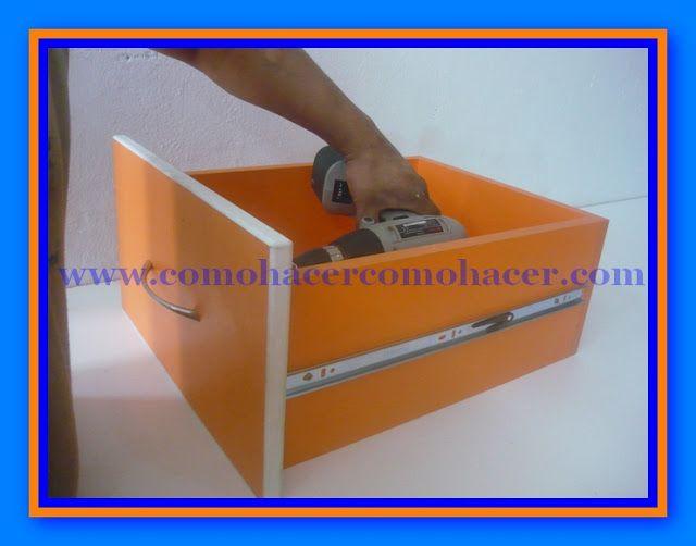 Web del Bricolaje Diseño Diy : Cómo Hacer un Cajón   Almacenamiento ...