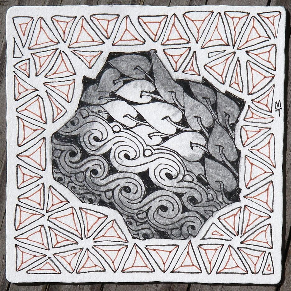 Zentangle four for zentangle pinterest zentangles